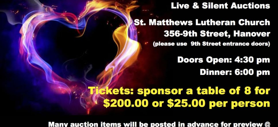 YFC/Youth Unlimited Hanover Fundraising Dinner with host Grant Dodson